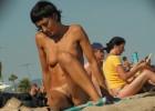 Nude hot naughty momma baked under the blistering sun