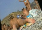 Sneaky voyeur takes a peek at tons of heavenly bodies at the beach