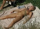Sunbathing requires exposing every part of your body to the sun and it makes voyeurs happy