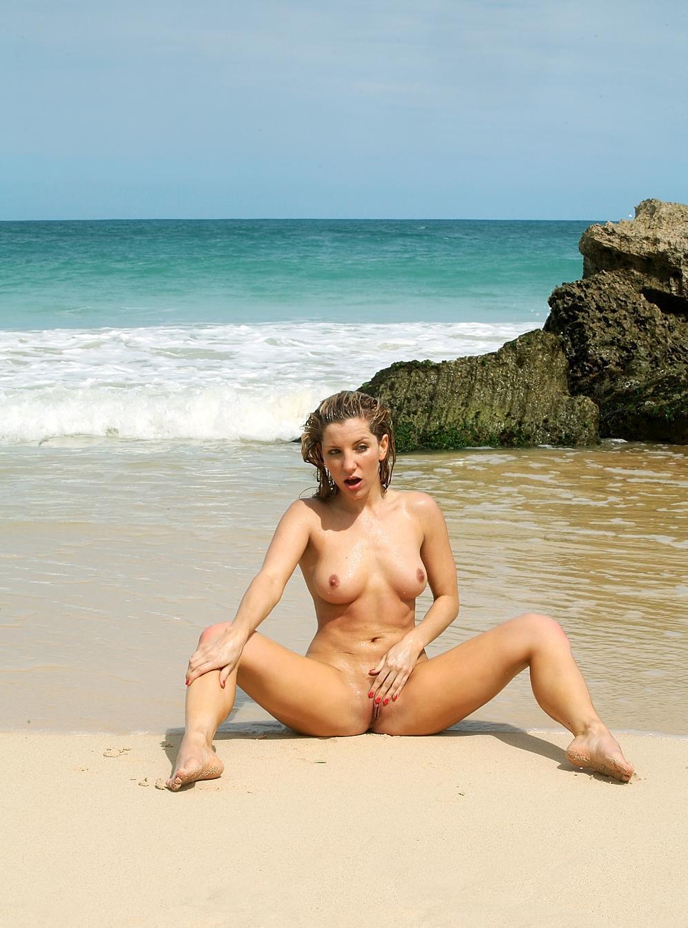 Caught masturbating near the sea