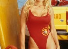 Famous Baywatch red swimsuit pic