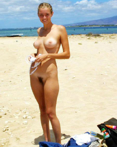 Nude chick is perfect in every way