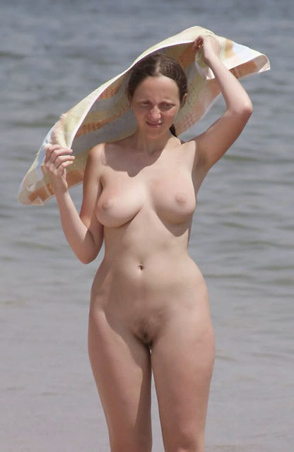 Nude babe and fantastic curves