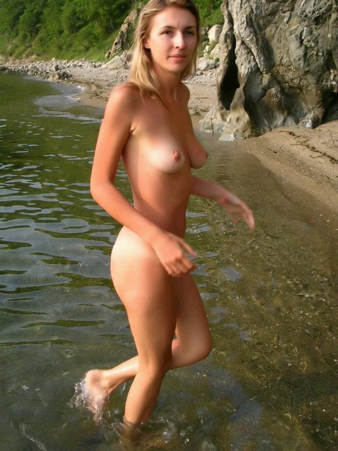 Nudist beach is the perfect place for beautiful babes