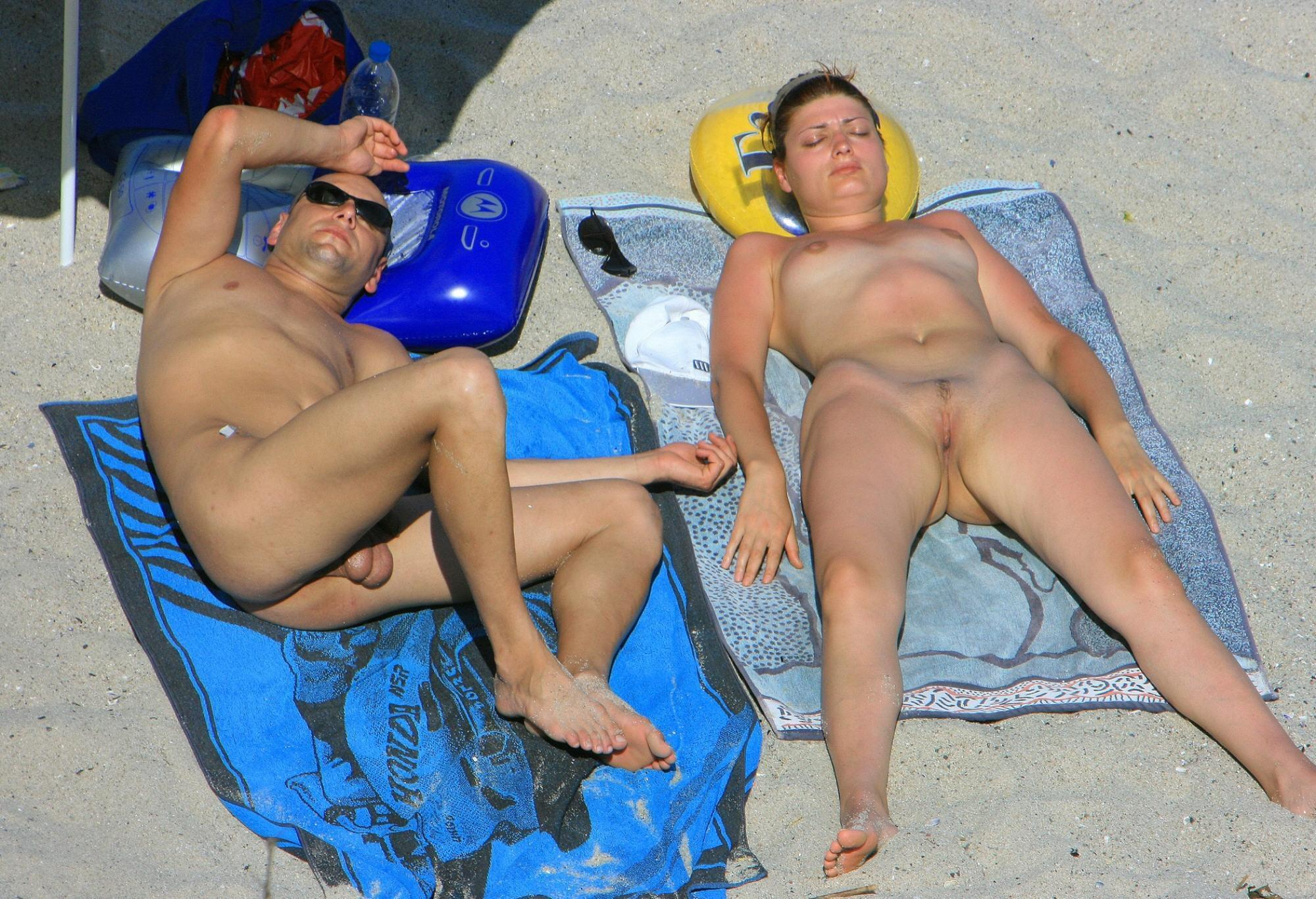 Nudist couple exposed by curious voyeurs