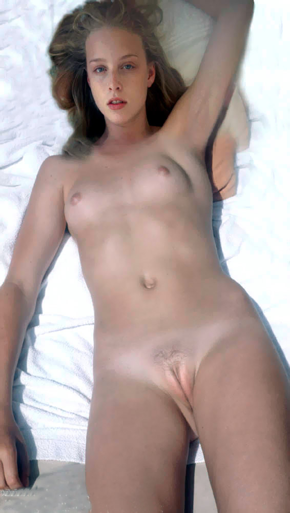 Hot blond young model expose her tasty juicy pussy and nice lickable clit