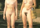 Old vintage days with dark bush moms young and beautiful nudist brunette girls