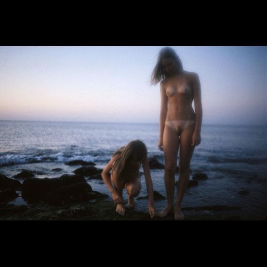 Petite sweet young chicks nude voyeur art on exotic sea shore