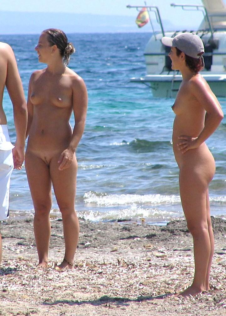 Nudist mature babes with small cute bazooms and firm titties
