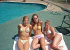 College girls found the best way to show how great their summer is
