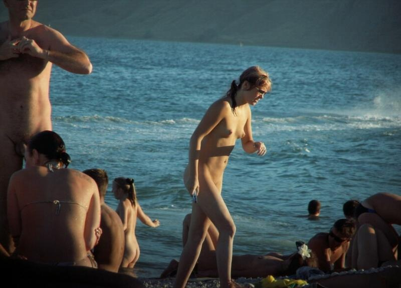 Legendary free beach providing convenience for young nudists