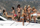 Sinful girls going wild kick off a sexy yacht party