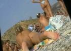 Sneaky voyeur takes a peek at tons of heavenly bodies at the beach